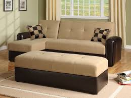 microfiber sofa bed sleeper couch set with storage chaise home