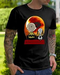 Snoopy Halloween Shirt by Snoopy And Charlie Brown At Solar Eclipse 2017 T Shirt Hoodie