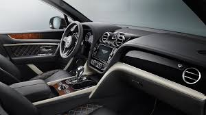 new bentley truck interior bentley bentayga gets mulliner treatment for ultimate suv luxury