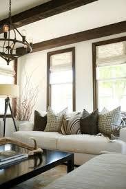 dark walnut trim gray walls dark wood trim and grey walls