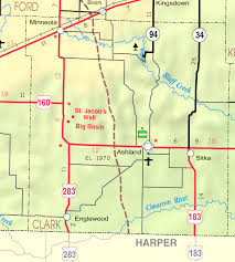 Map Of Counties In Kansas Clark County Kansas Familypedia Fandom Powered By Wikia