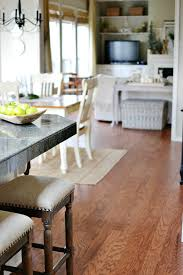 Kitchen And Breakfast Room Flooring Makeover At The Picket Fence - Family room flooring