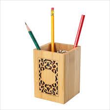 Desk Pencil Holder Online Get Cheap Wooden Stationary Holder Aliexpress Com