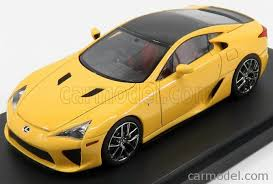 lexus lfa model car mark43 pm4334cy scale 1 43 lexus lfa coupe 2012 pearl yellow