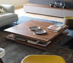 modern wood coffee table living room delightful table in living room inside elegant coffee