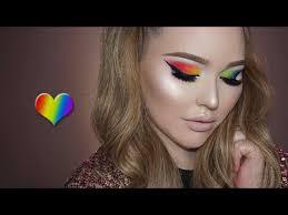 makeup artist school orlando pride tribute rainbow makeup tutorial