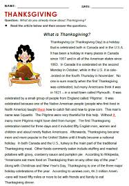 thanksgiving all things topics