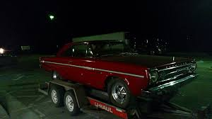 found 800 mile 1966 plymouth belvedere ii with landy hemi