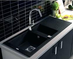 vasque cuisine evier noir cuisine avier a encastrer 1 cuve noir calci castorama