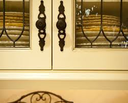 Leaded Glass Inserts Houzz - Leaded glass kitchen cabinets