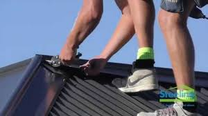 steeline installing the roof u0027s ridge capping youtube