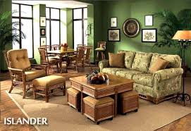 Living Room Wicker Furniture Rattan Living Room Furniture Nellia Designs