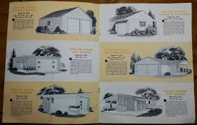 1950s design see 2 mad men era home improvement brochures 1950s graphic design brochure lumber industry 25 garages and carports weyerhaeuser company 4