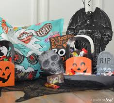 halloween coffin graveyard boo kit