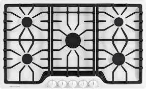 Blue Star Gas Cooktop 36 White Gas Cooktops