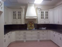 organizing a chinese kitchen cabinets with glass doors