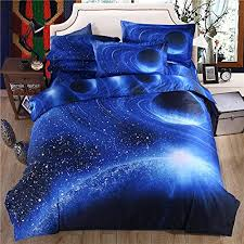 Girls Queen Size Bedding by Cliab Galaxy Bedding For Kids Boys Girls Queen Size Outer Space