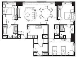 three bedroom apartments floor plans service apartment in jakarta ascot jakarta 3 bedroom apartments