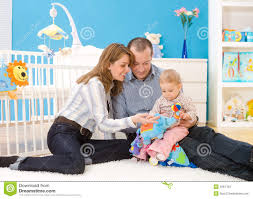 family together at home stock images image 4687164