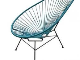 fauteuil de la maison fauteuil acapulco ou scoubidou par caracterielle