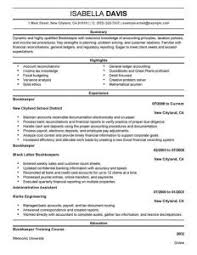 exclusive design bookkeeping resume 4 best bookkeeper resume