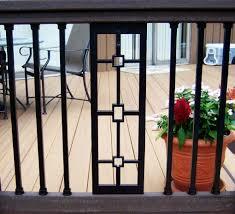 deck railing panels aluminum u0026 glass led rails by dekor lighting