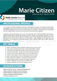 19 besten professional nurse government resume public service