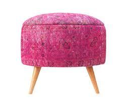 Pink Ottoman Pink Ottoman Etsy