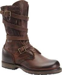 womens boots burning rock black patent platform boots industrial