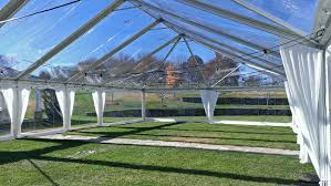 clear wedding tent athens ga clear top tent rental crossback chairs wedding photos