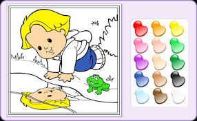 coloring games baby games fisher price