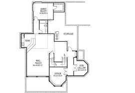family room floor plans sunken family room and raised study 9510rw architectural