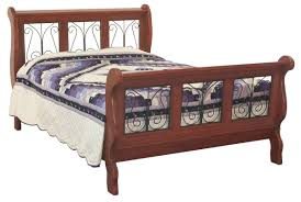 Iron Sleigh Bed Sleigh Beds By Indian Trail Furniture Howe Indiana