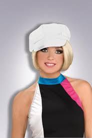 60 u0027s 70 u0027s 70s mod womens vinyl cap hat hippie retro costume