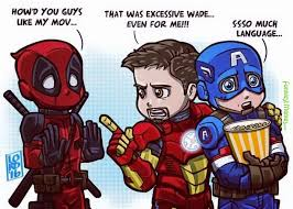 Funny Deadpool Memes - image funniest memes cap and ironman after seeing deadpool 17048