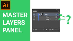 tutorial illustrator layers master the layers panel in adobe illustrator cc tutorial for