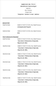 resume format free download doctor cv resume template download sle doctor cv template jobsxs com