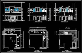 Kitchen Design Autocad L Shape Modular Kitchen Design Plan N Design