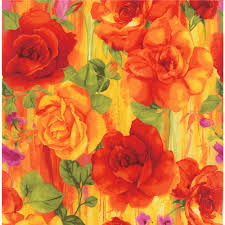 timeless treasures rosa large scale roses panel home colors and