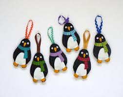 penguin decor etsy