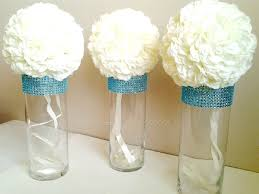 Wedding Centerpiece Vases Centerpiece Cylinder Vases Silver Bling Vases Wedding