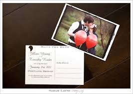 wedding save the date postcards wording ideas wedding save the date postcards display back and