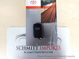 2012 used toyota prius 5dr hatchback two at schmitt imports