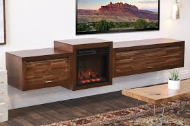 Mid Century Modern Electric Fireplace by Fireplace Tv Stands U0026 Floating Wall Mount Consoles Woodwaves