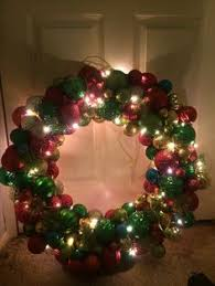pool noodle ornament wreath tutorial magic