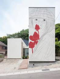 umievskaya adds ancient drawings to modern japanese homes maria umievskaya adds ancient drawings to modern japanese homes