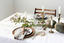 thanksgiving table setting to live by eyeswoon