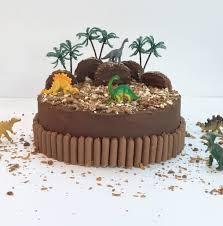 dinosaur cakes dinosaur land birthday cake kit by craft crumb