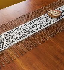 twig cloth table runners handmade imports swahili modern
