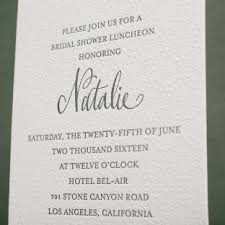 wedding luncheon invitations bridal shower invitations figura